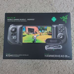 Brand New Razer Kishi + Hammehead For Android, Compatible With Xbox Xcloud And Playstation Remote Play for Sale in Columbus, OH
