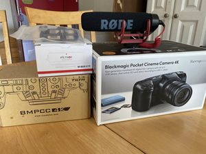 Blackmagic Pocket 4K with extras for Sale in Clearwater, FL