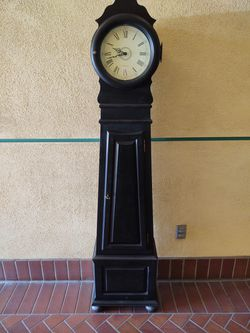 Ethan Alan Black Grandfather Clock for Sale in Glendora,  CA