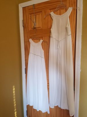 2 Flower girl dresses size 12 and 8 for Sale in Addison, IL