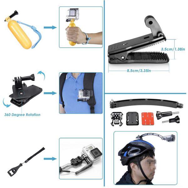 GoPro Accessories, Mount, Selfie Stick, Tripod, Floaty