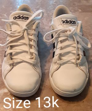 White Adidas size 13k for Sale in Renton, WA