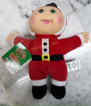 Cabbage Patch Kids Holiday Helpers Cuties Collection Nicholas Santa Doll for Sale in Euclid, OH