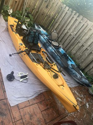 Hobie Outback 2019 and Vibe Sea Ghost 130 with some extras for Sale in Miami, FL
