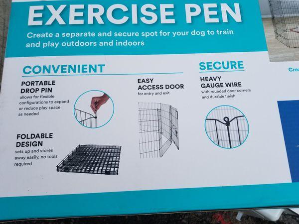 "36 "" pet exercise pen, new"