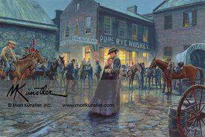 "A Mort Kunstler- ""Palace Bar"" for Sale in Harpers Ferry, WV"
