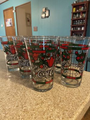 Coca Cola Collectable Glasses for Sale in Camp Hill, PA