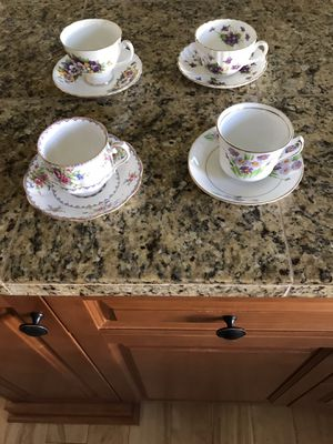 Tea cups and saucers for Sale in Burien, WA