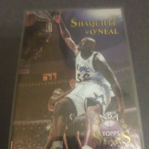 1996 NBA TOPPS STARS Topps Finest Insert Shaquille O'neal #32 for Sale in Redmond, OR