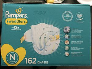 Pampers Swaddlers Newborn Diapers for Sale in Salt Lake City, UT