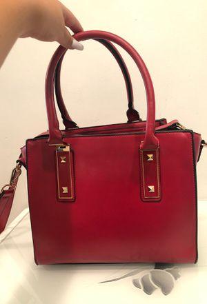 Red Medium sized handbag/ shoulder bag for Sale in Los Angeles, CA