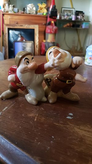 Disney character salt and pepper shakers for Sale in Cheshire, CT