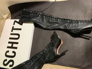 Schutz thigh high boots for Sale in Bronx, NY