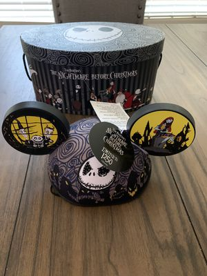 Nightmare Before Christmas light up Mickey Hat for Sale in Fresno, CA