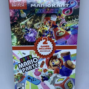 Mario Kart 8 And Super Mario Party Bundle For Nintendo Switch for Sale in Brookhaven, GA