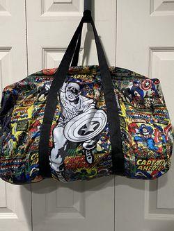 Marvel Comics Entertainment Captain America Retro Collectors Duffle Bag for Sale in Buena Park,  CA