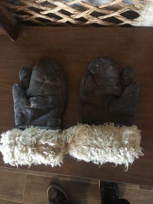 Vintage wool gloves mittens for Sale in Phoenix, AZ