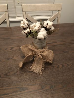 Real Cotton Centerpiece for Sale in Durham, NC