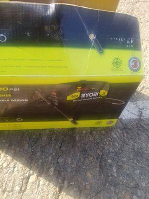 Ryobi 1600psi pressure washer for Sale in North Las Vegas, NV