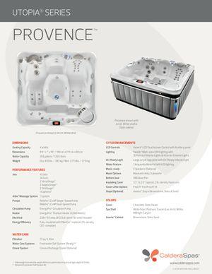 Caldera Provence 4 person hot tub for Sale in Miami, FL