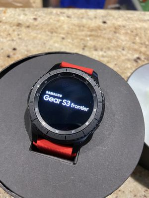 FOR TRADE: Gear s3 Frontier for Apple watch or iPad for Sale in Land O Lakes, FL