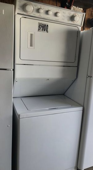 Whirlpool stackable washer and dryer for immediate delivery and 6 months warranty for Sale in Pompano Beach, FL