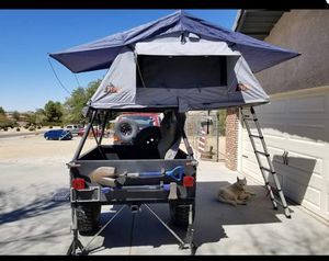 Custom offroad tent trailer for Sale in Apple Valley, CA
