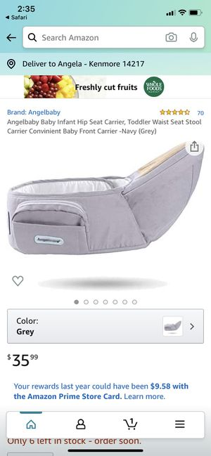 Hip seat Baby Carrier for Sale in Kenmore, NY