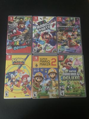 Nintendo Switch Games for Sale in San Diego, CA