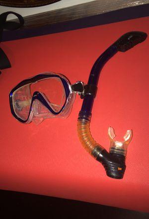 Scuba goggles and breather for Sale in Atlanta, GA