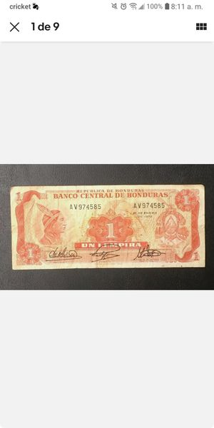 Honduras old paper money for Sale in Azalea Park, FL