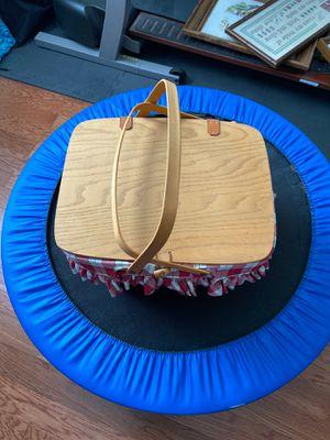 Retired Longaberger picnic basket set for Sale in Old Hickory, TN