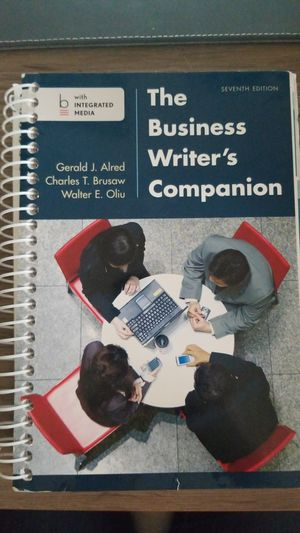The Business Writer's Companion for Sale in Boca Raton, FL