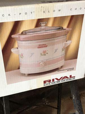 Rival 6quart Crock Pot for Sale in Lodi, NJ