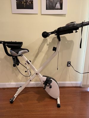 FitDesk Compact exercise bike for Sale in Derwood, MD