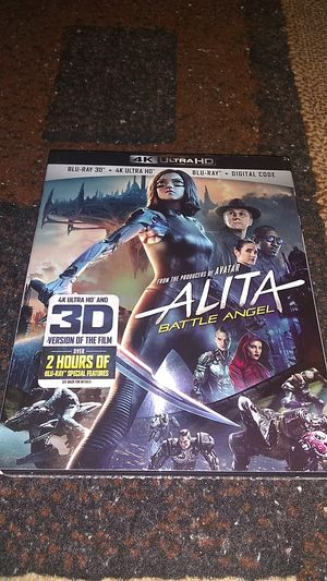 ALITA 4K BRAND NEW SEALED NEVER OPENED ASKING ONLY FOR $14.00 for Sale in Phoenix, AZ