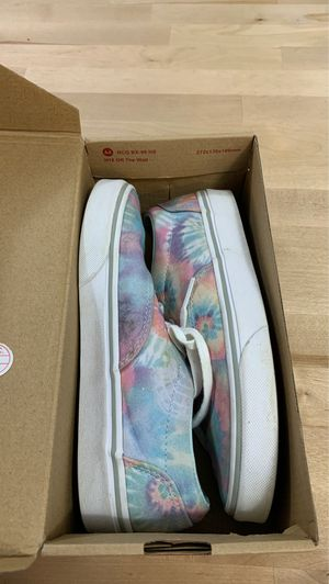 Vans-tie dyed size 6 for Sale in Frame, WV