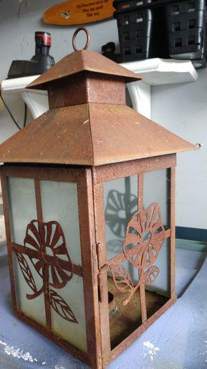 Rustic lantern for Sale in Puyallup, WA