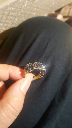 Blue sapphire ring size 8 for Sale in Moreno Valley, CA