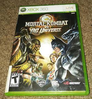 Mortal Kombat Xbox 360 video game.. for Sale in Orlando, FL