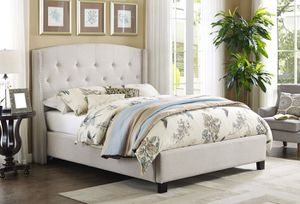 Queen Tufted Upholstered Bed Frame - $349 - $40 down take home today!!! for Sale in Virginia Beach, VA