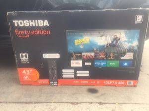 43inch 4K ultra hd fire stick edition smart tv for Sale in Aurora, CO