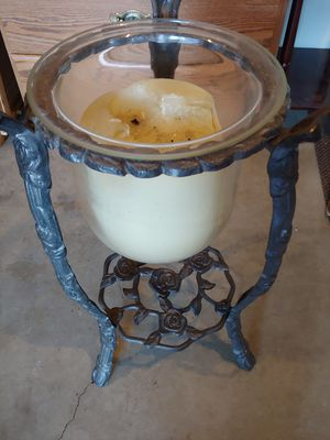 Exotic looking candle holder and candle for Sale in Vancouver, WA