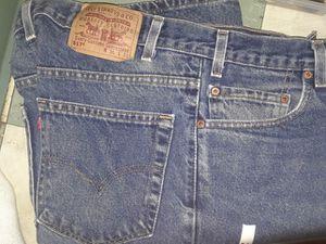36 x 30 Levi 517 blue jeans for Sale in Denver, CO