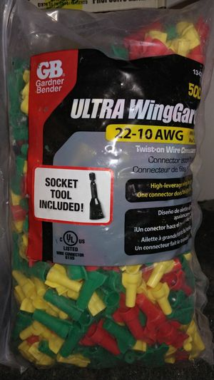 Wire-nuts. Full bag for Sale in Avondale, AZ