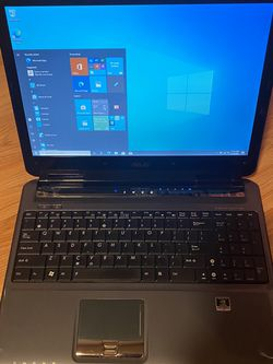 "ASUS Laptop Intel Core 2 Duo (2.60 GHz) 4 GB Memory 250 GB NVIDIA GeForce 9650M GT 15.4"" Windows 10/Microsoft Office for Sale in Dallas,  TX"