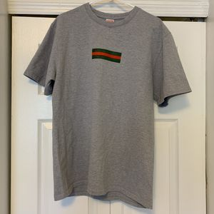 1999 Supreme Gucci Box logo tee grey XL for Sale in Nashville, TN