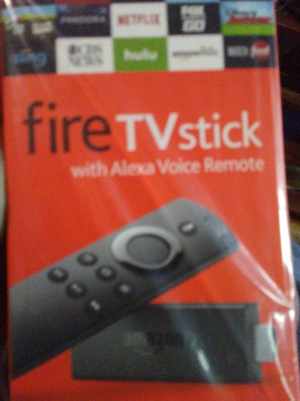 Not sale fire tv stick but me setting it up