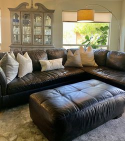 AshleyHomeStore Leather Sectional Sofa for Sale in Phoenix,  AZ