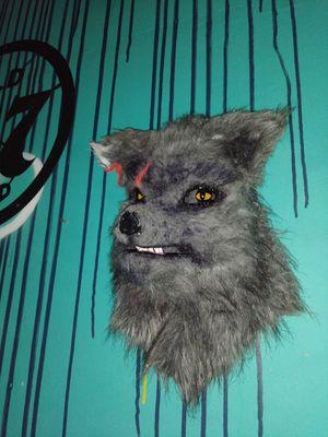 Super sick custom handmade werewolf mask for Sale in Miami, FL